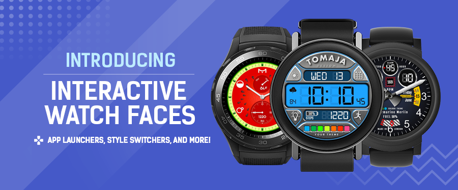 ⚡️ Introducing Interactive Watch faces ⚡️ - Facer