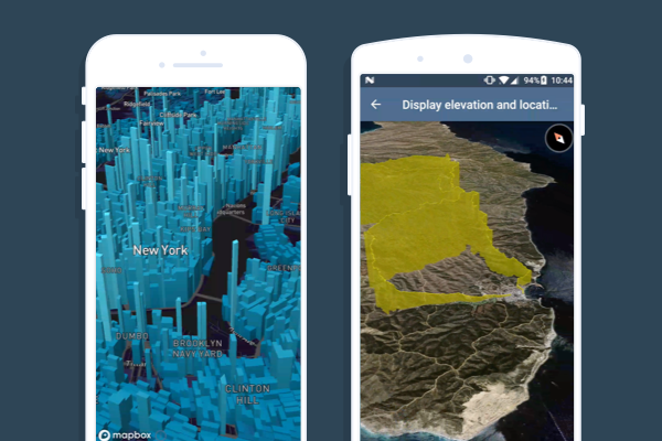 3D Maps For Android 3D map visualizations on Android and iOS   Points of interest