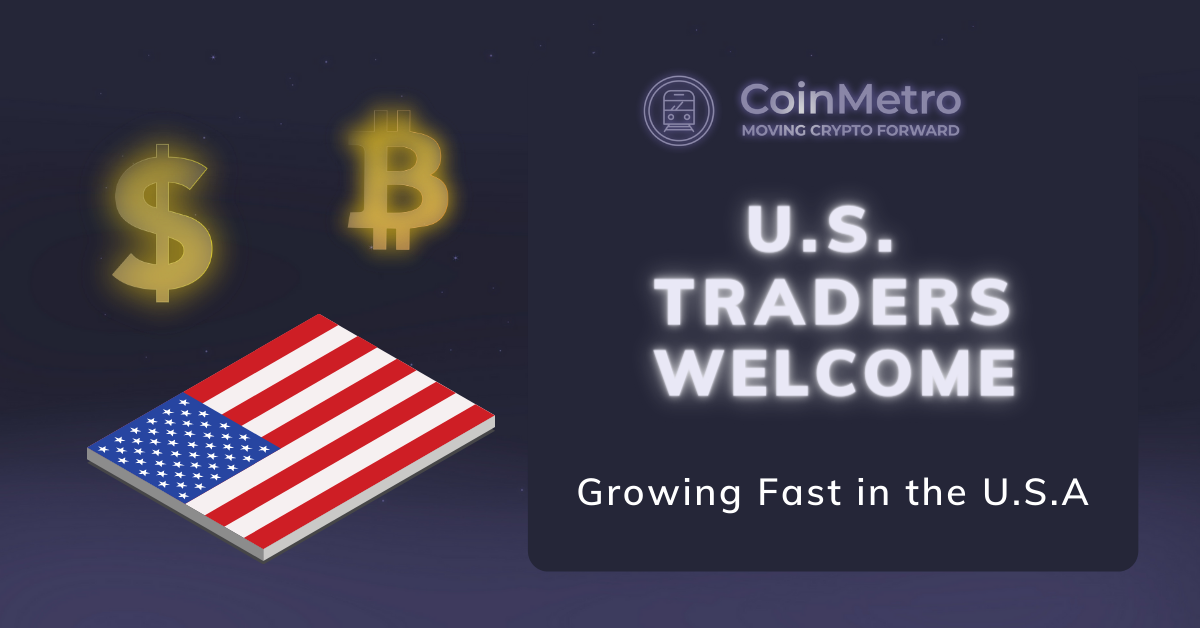 CoinMetro Welcomes US Clients