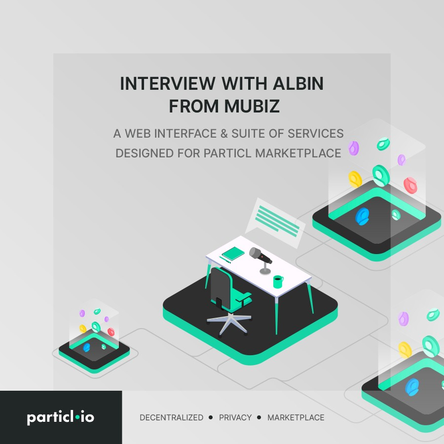 Interview with Albin from Mubiz, a Web Interface & Suite of