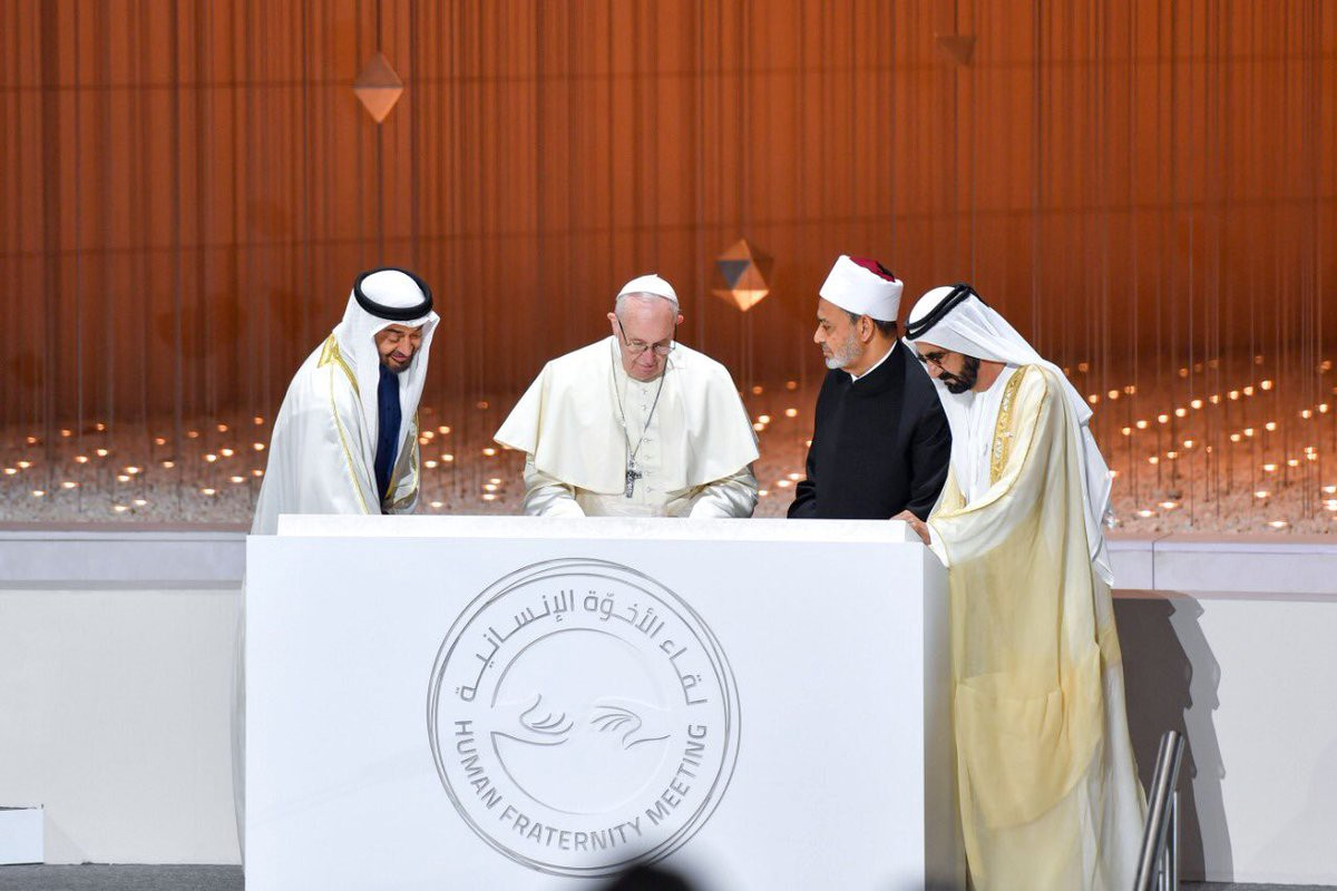 The National: Sheikh Mohamed bin Zayed announces Abrahamic Family House to be built | by Chief Rabbi, Jewish Community of the Emirates | Chief Rabbi of the Jewish Community of the Emirates | Medium
