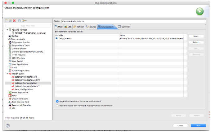 Fixing issue : The environment variable JAVA_HOME is not correctly set