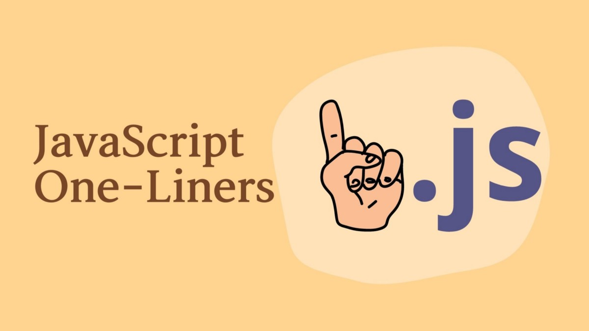 Awesome javascript one-liners to look like a pro