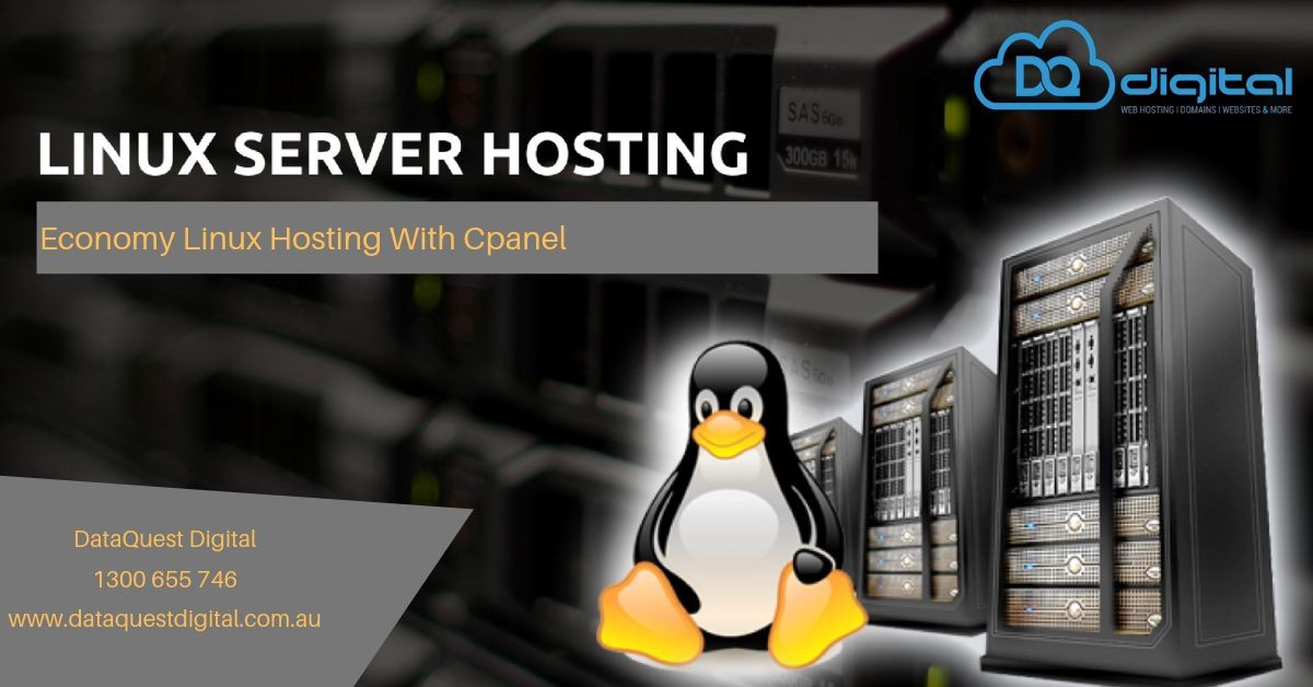Linux Server Web Hosting Australia — DataQuest Digital