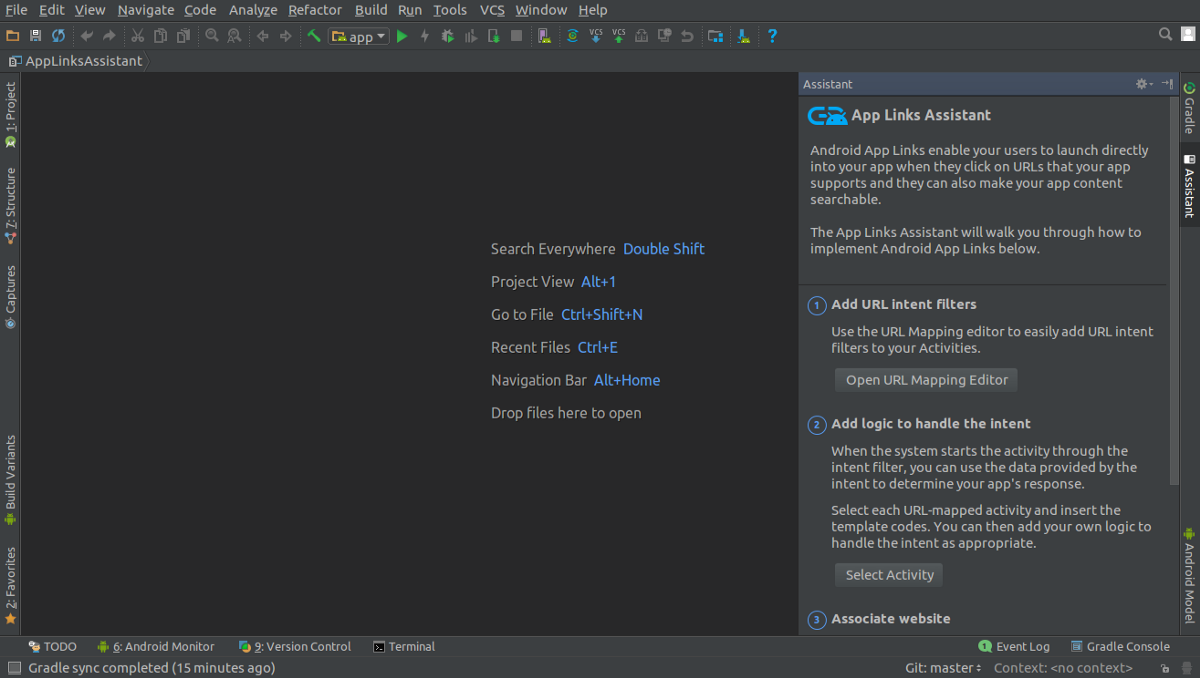 How To Use App Links Assistant In Android Studio 2 3 By Todor Kostov Androidpub