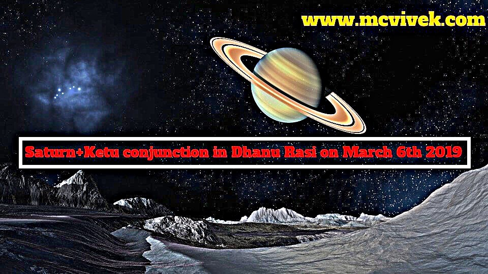 How will be Saturn Ketu Conjunction & Transit & in