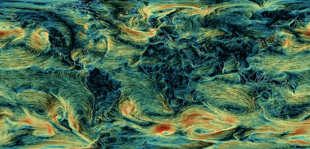 How I built a wind map with WebGL - Points of interest
