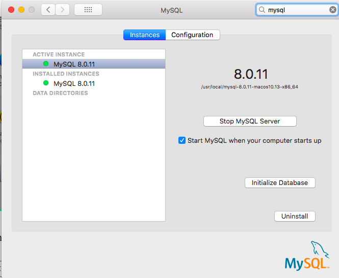Installing and running MySQL on macOS with errors resolved