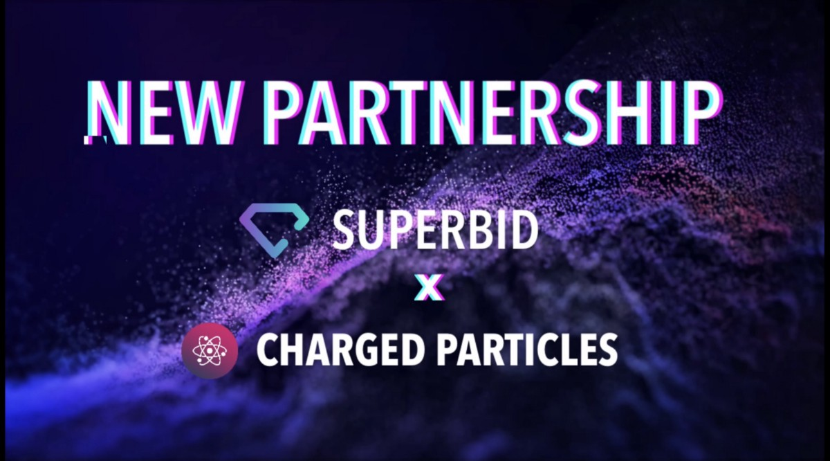 SuperBid announces partnership with Charged Particles