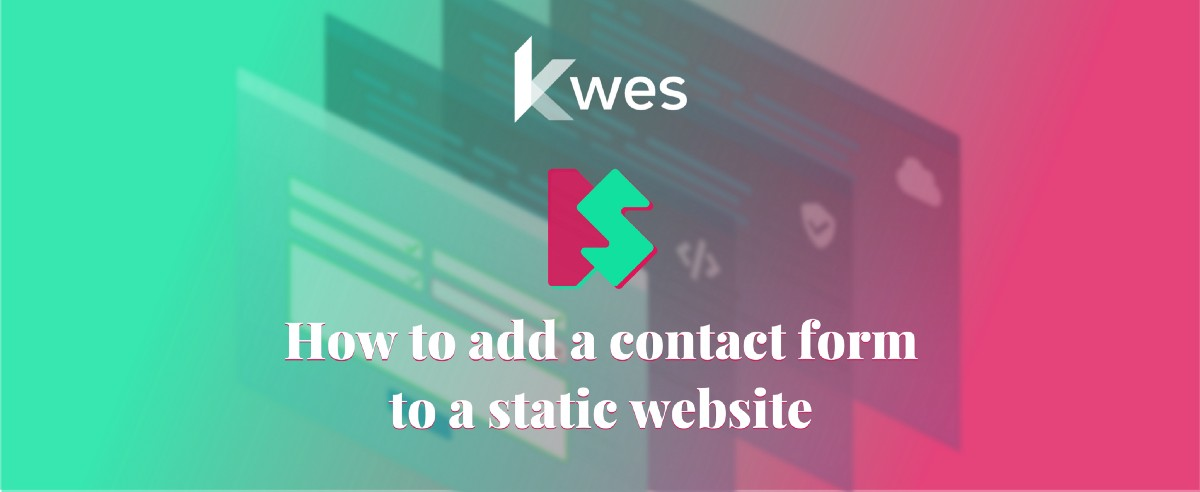 How to add a contact form to a static website