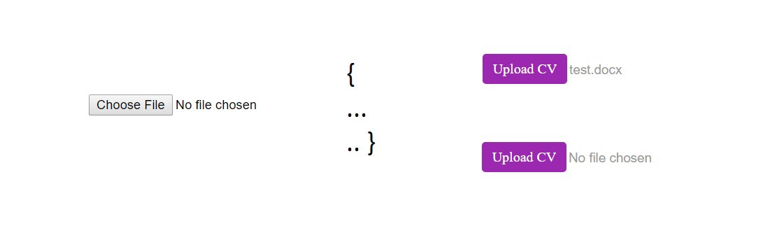Styling HTML file input button with Pure CSS (without losing the