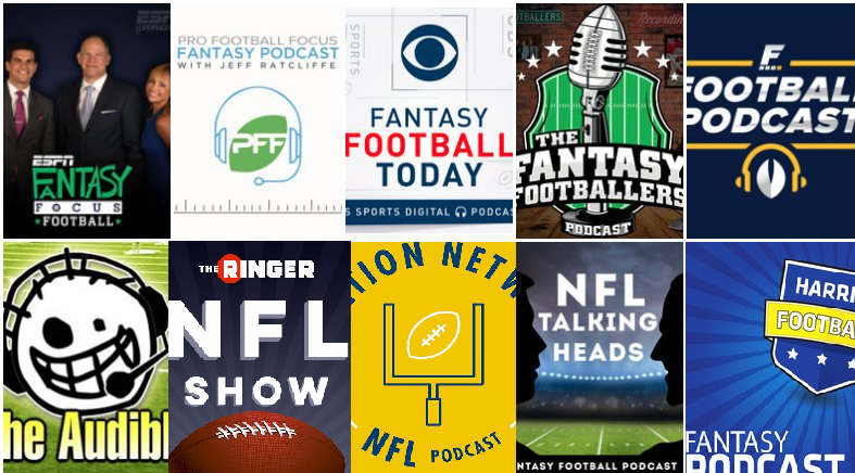 The best 15 fantasy football podcasts of 2018 - The Hit Job