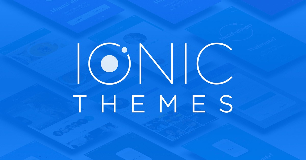 The best Ionic Templates to build Ionic Framework Apps