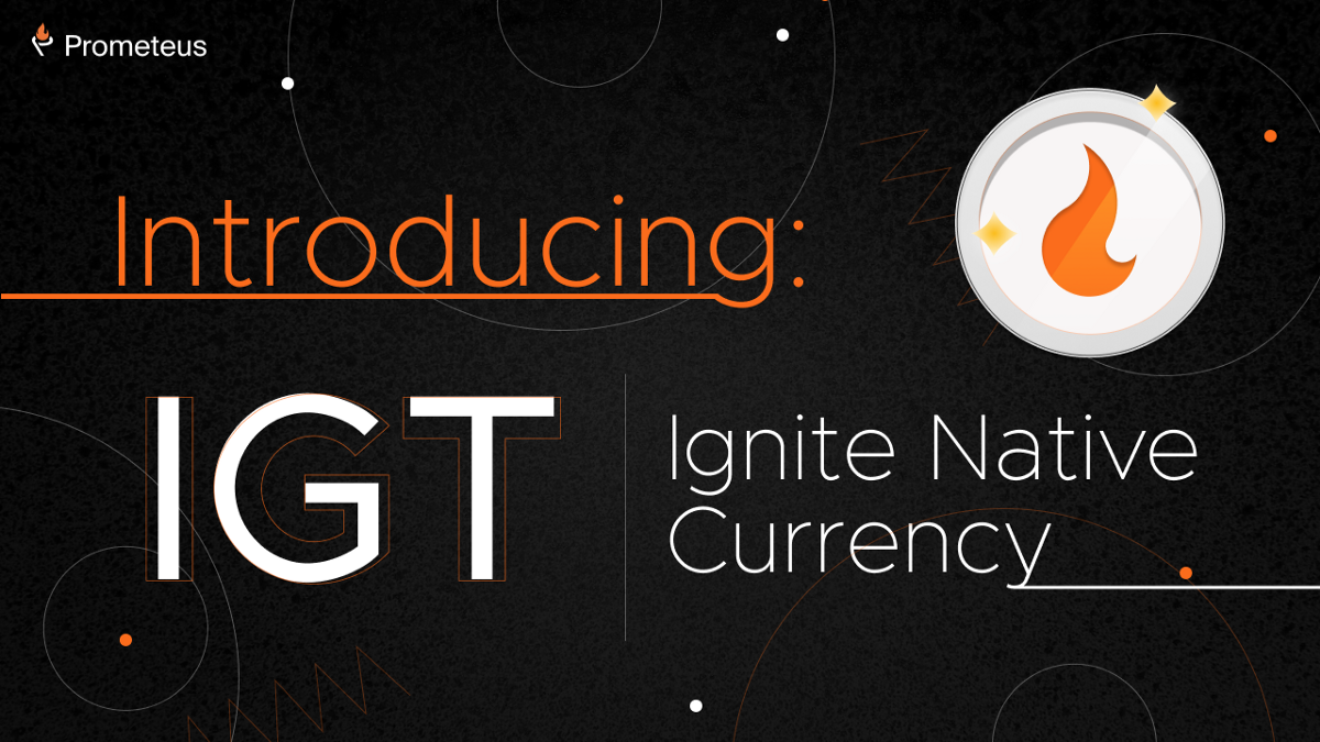 Introducing $IGT, native currency of Ignite.so and first farming coin for $PROM holders!
