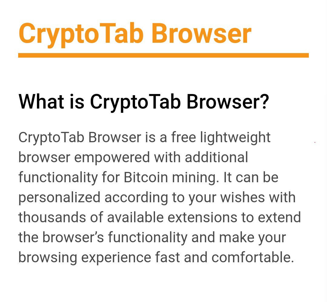 Install CryptoTab browser and get real Bitcoins for using it