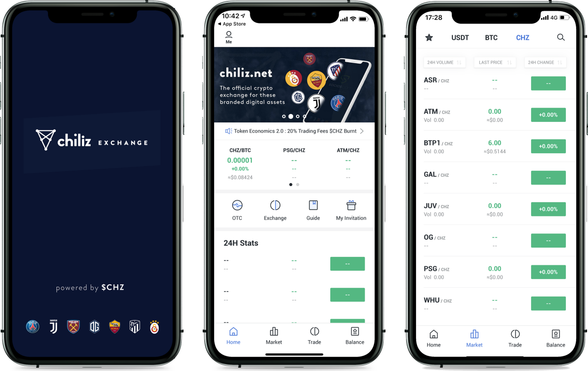 <bold>CHILIZ</bold> LAUNCH CHILIZ.NET—WORLD'S FIRST CRYPTO EXCHANGE FOR SPORTS & ENTERTAINMENT
