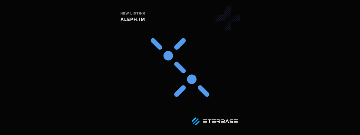 EterbaseTreasury listing announcement: ALEPH