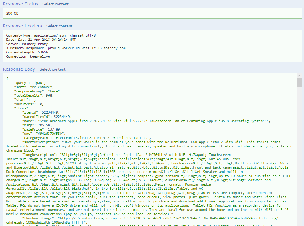 How to Extract Data from Walmart Open API? - Korkrid Kyle