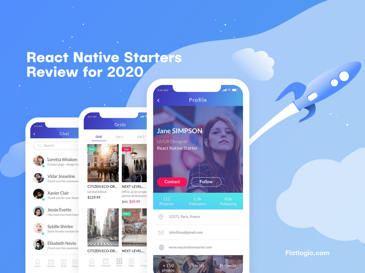 React Native Starter Kits Review for 2020