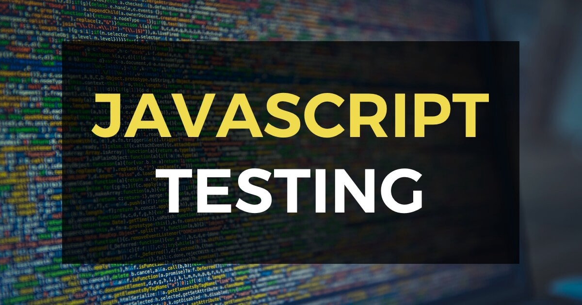 Basics of Testing JavaScript with Jest - Bits and Pieces