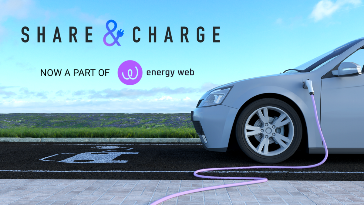 Share&Charge Becomes a Part of Energy Web