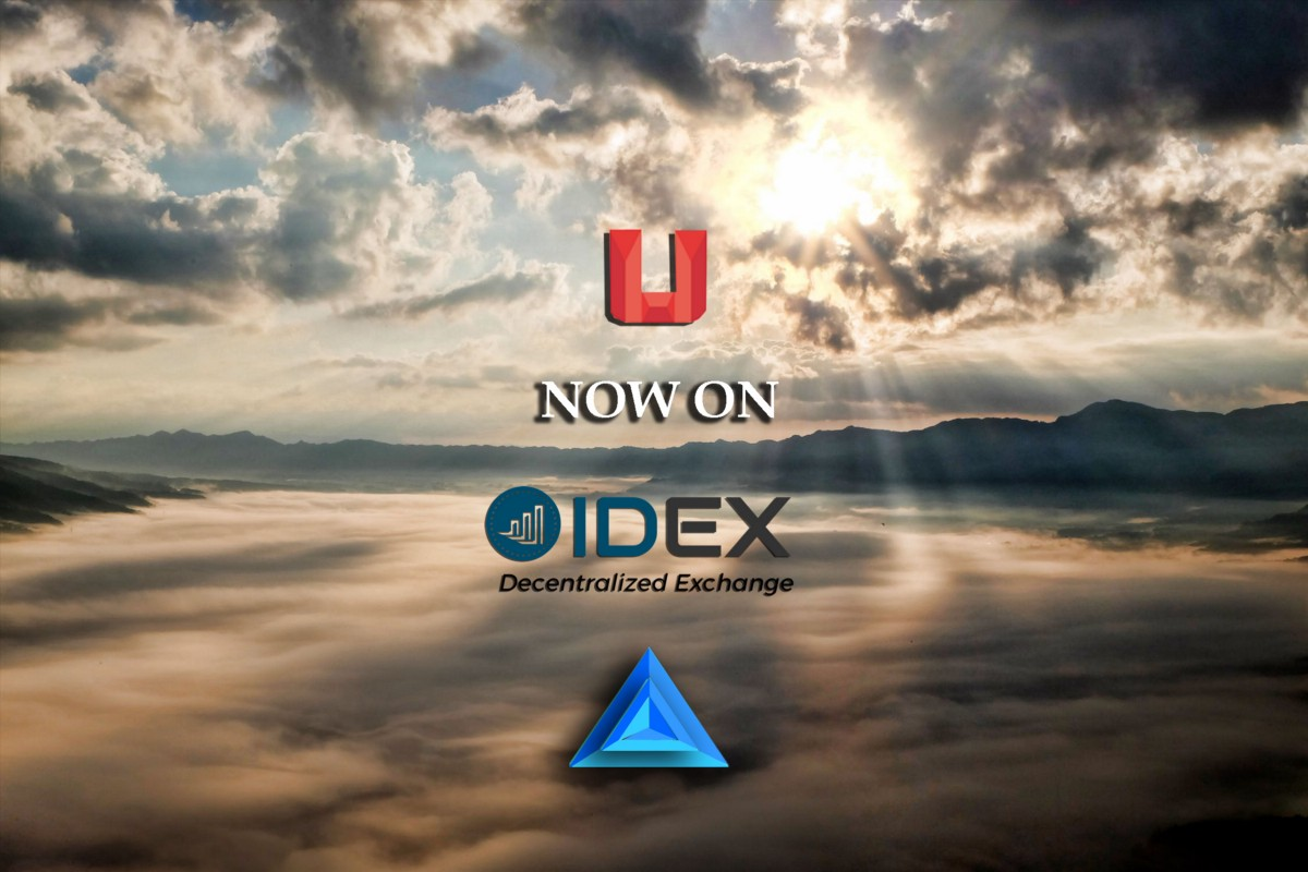 Uquid Coin is now listed on IDEX