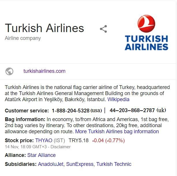 Direct coordination with Turkish Airlines Customer Service usa or uk