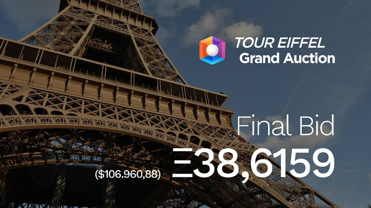 A Summary of the Eiffel Tower Grand Auction