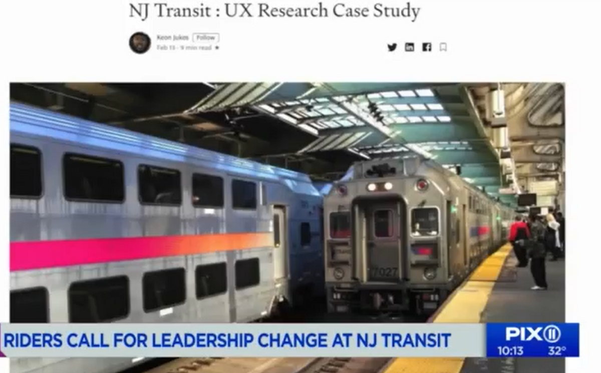 How my UX Research case study ended up on TV