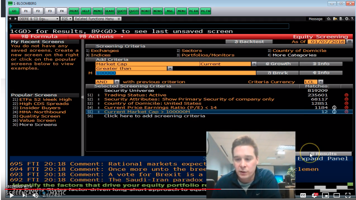 How to build your Bloomberg terminal for free? - Felix Baron