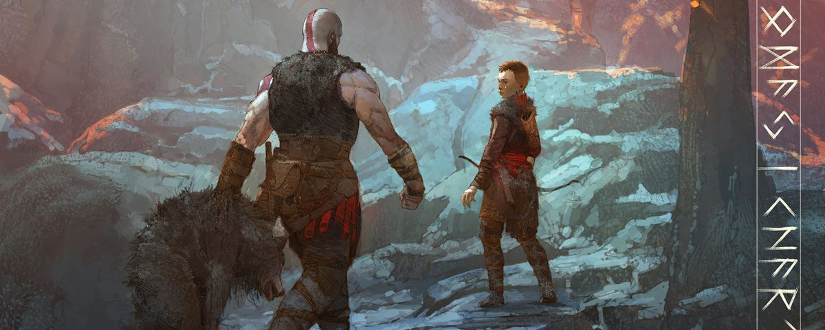 A Father Presses A Son Acts A Kratos Centric Model Of God
