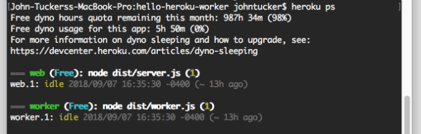 Worker Processes with Heroku By Example - codeburst