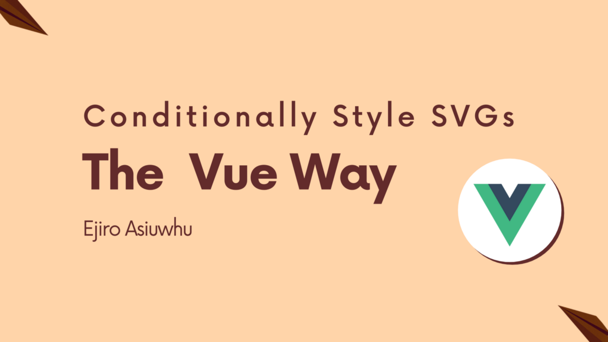 Conditionally Style SVGs The Vue Way