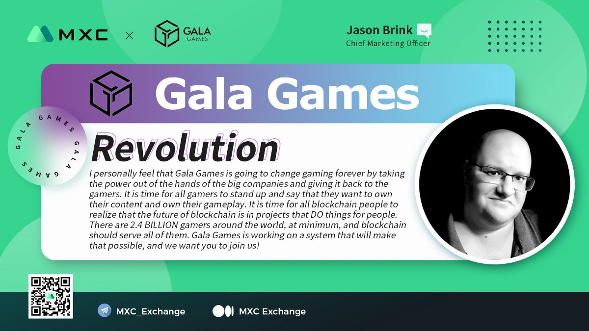 AMA Session with Jason Brink from Gala Games (GALA)