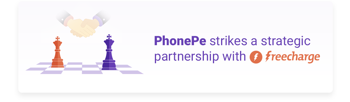 PhonePe strikes a strategic partnership with FreeCharge