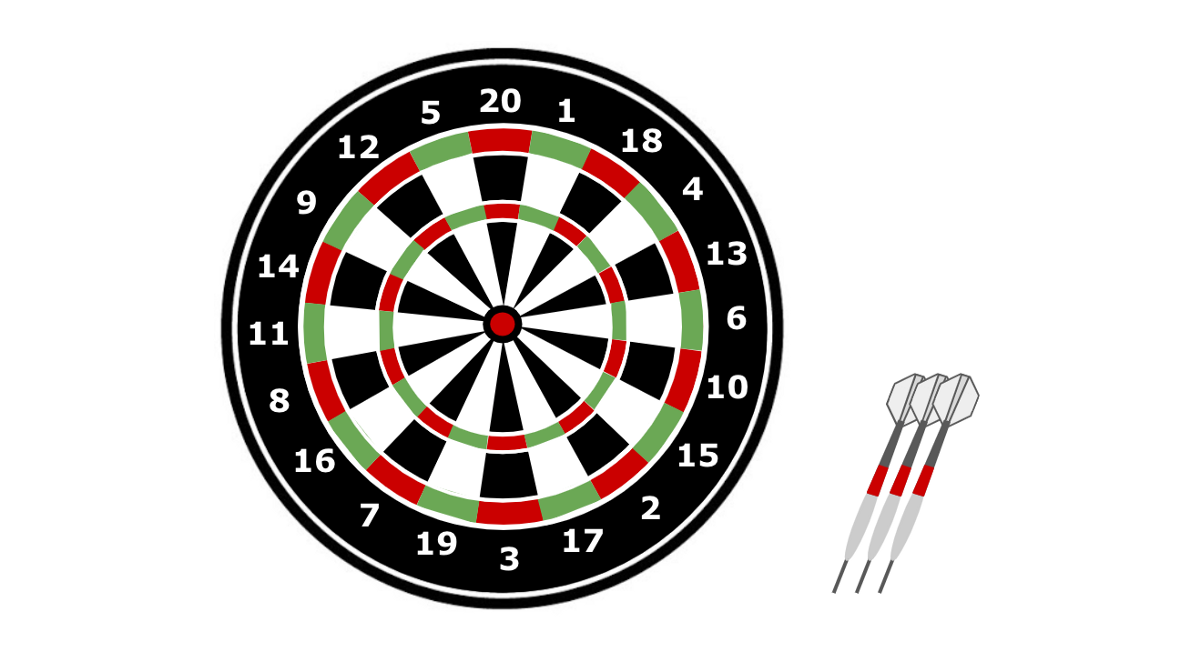 Playing Product Darts
