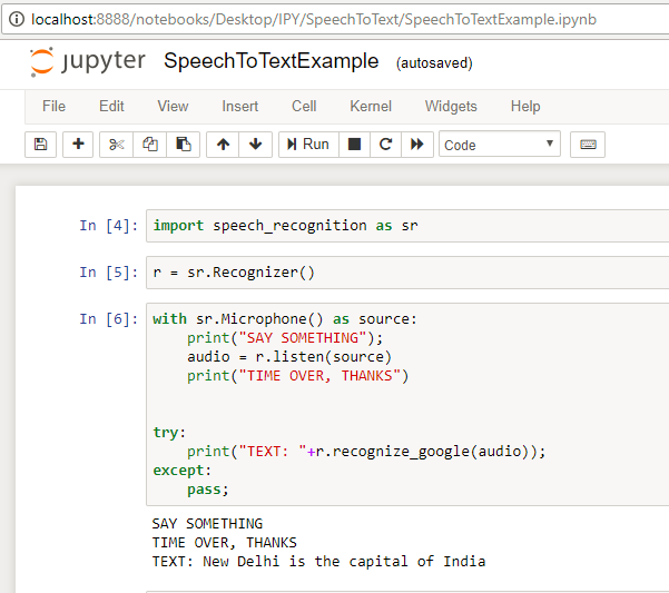 Speech To Text — Python - Rahul Vaish - Medium