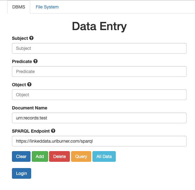 Deceptively Simple Data Entry — leveraging existing Open