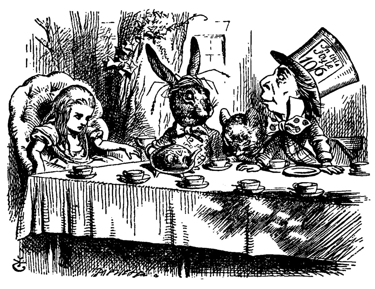 Sir John Tenniel's Classic Illustrations of Alice's