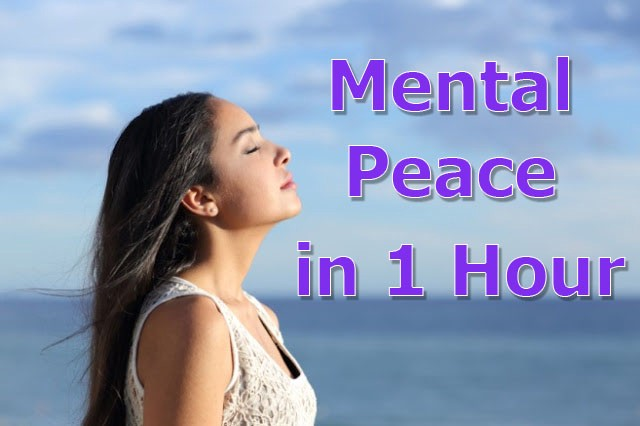 How to Get Mental Peace Easily in 1 Hour by Dr. Thomas Healing (Long Lasting Inner Peace)