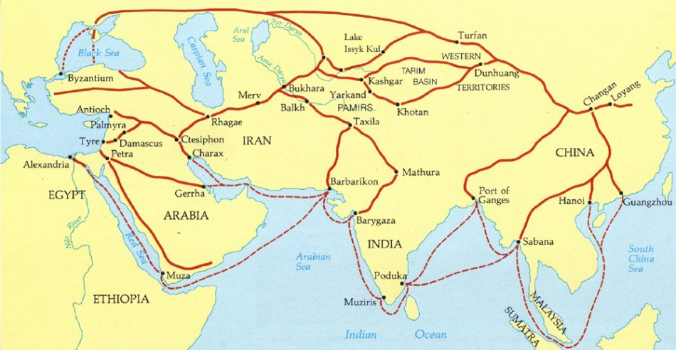 The Śaka Lands Linking India and Europe - Subhash Kak - Medium