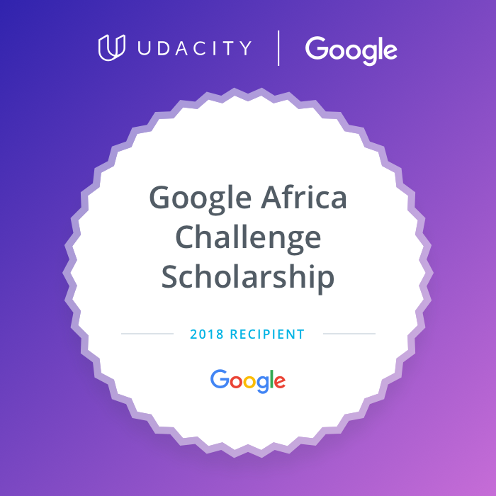 SCALE UP THE NUMBER: GOOGLE AFRICA CHALLENGE SCHOLARSHIP