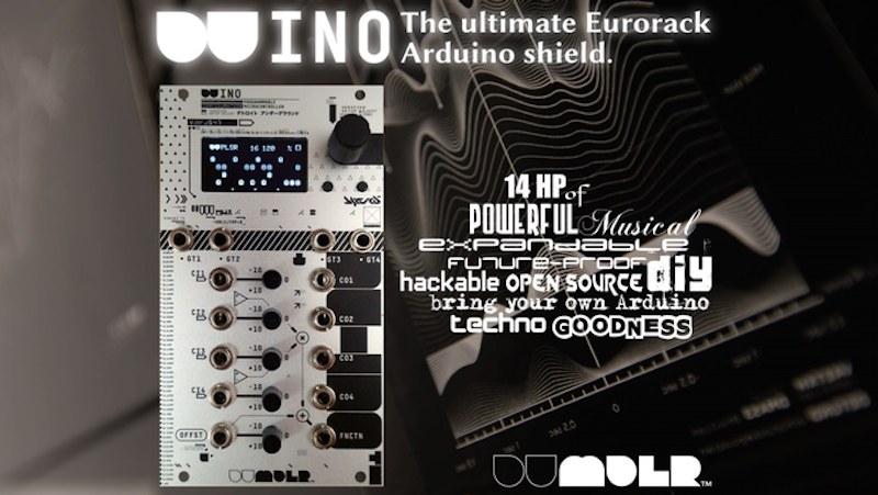 Add an Arduino to Your Eurorack with the DU-INO Shield