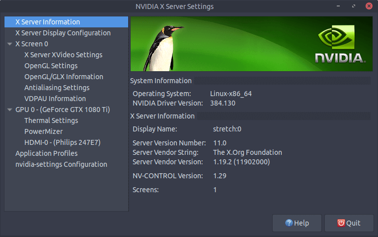 How to Install Nvidia Driver on Debian 9 Stretch From