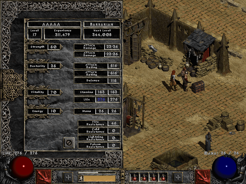 Using ImageMagick to Save the Character Screen for Diablo II