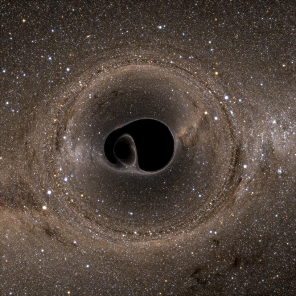 Ask Ethan: How do gravitational waves escape from a black hole?