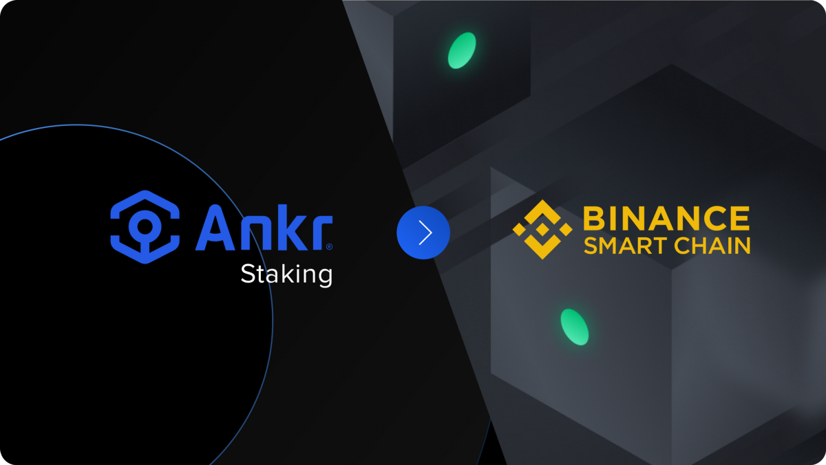 ETH staking for Binance Smart Chain is now live on Ankr