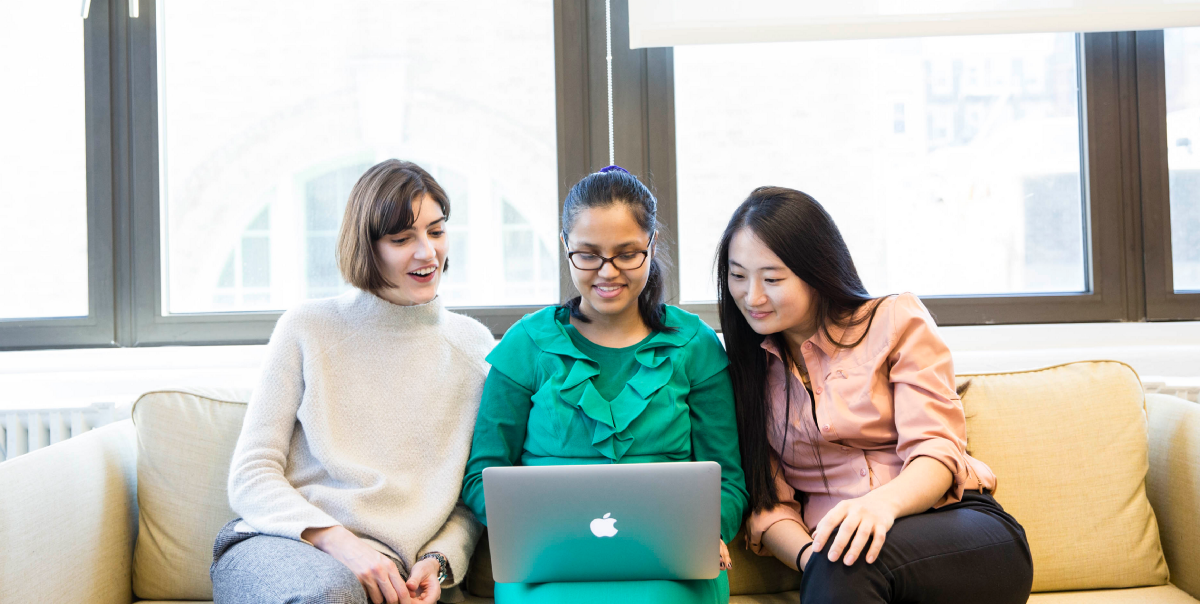 Thank You to Our Three Interns from Women in Technology in New York