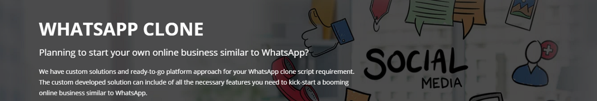 Reason Why Whatsapp Clone Script is Getting More Popularity Among Every entrepreneur?