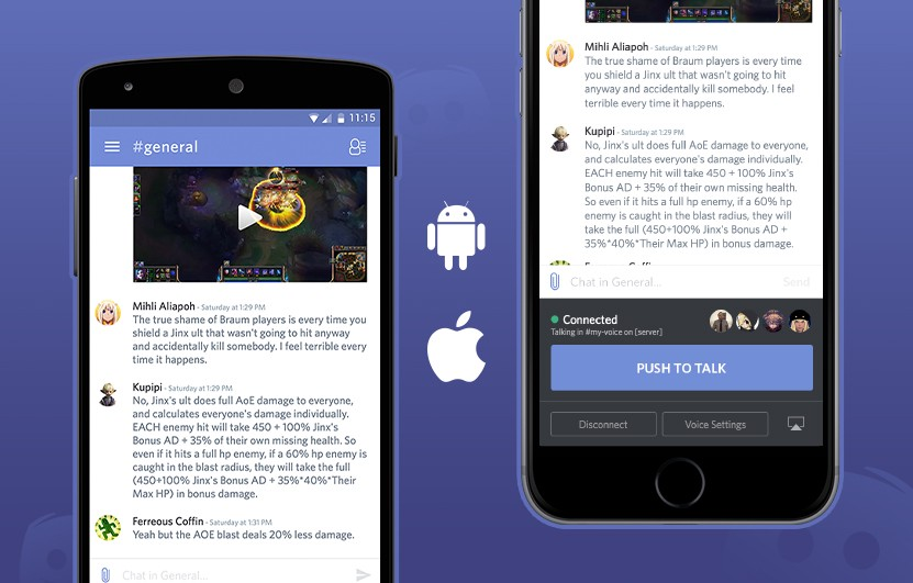 Voice chat now available on Discord mobile apps - Discord Blog
